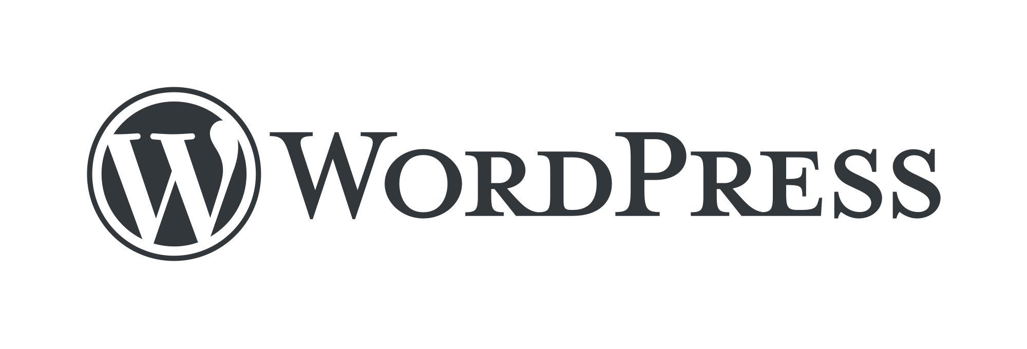 WordPress logotype standard